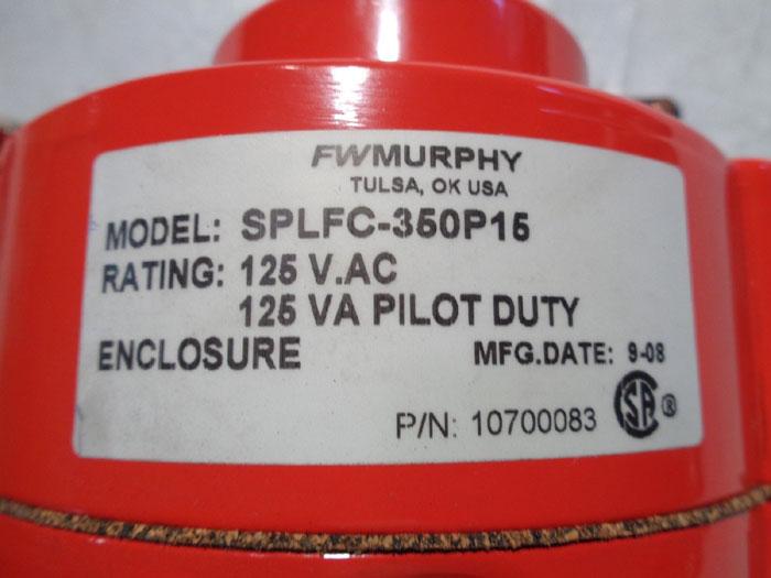 MURPHY PRESSURE SWICHGAGE #SPLFC-350P15