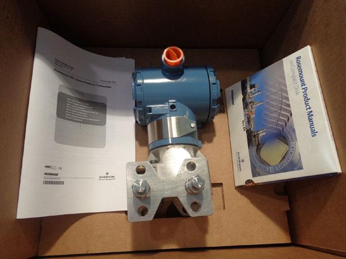 ROSEMOUNT SMART PRESSURE TRANSMITTER - 3051CD2A02A1AH2E5L4