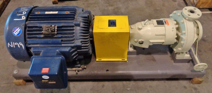 DICKOW PUMP CO. MAGNETIC DRIVE PUMP ON S/S BASE  G-572 R1 or G573 R1