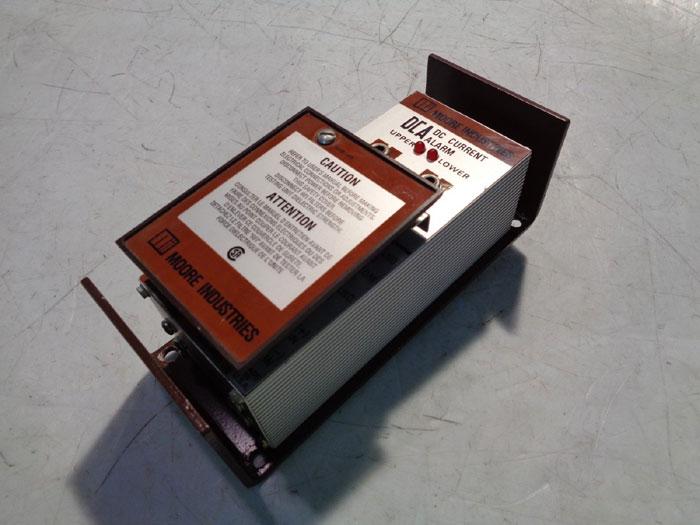 MOORE DC CURRENT ALARM DCA/4-20MA/DH1L1/117AC