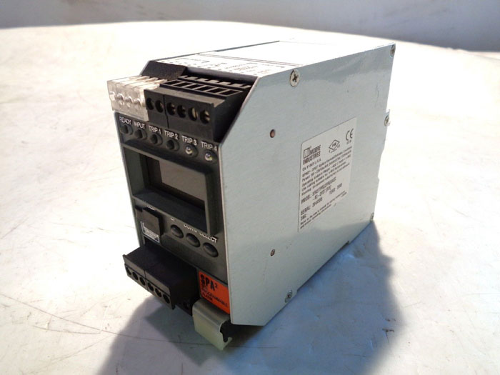 MOORE SPA2 SITE PROGRAMMABLE ALARM SPA2/TPRG/2PRG/24DC-A0-DPDT [DIN]