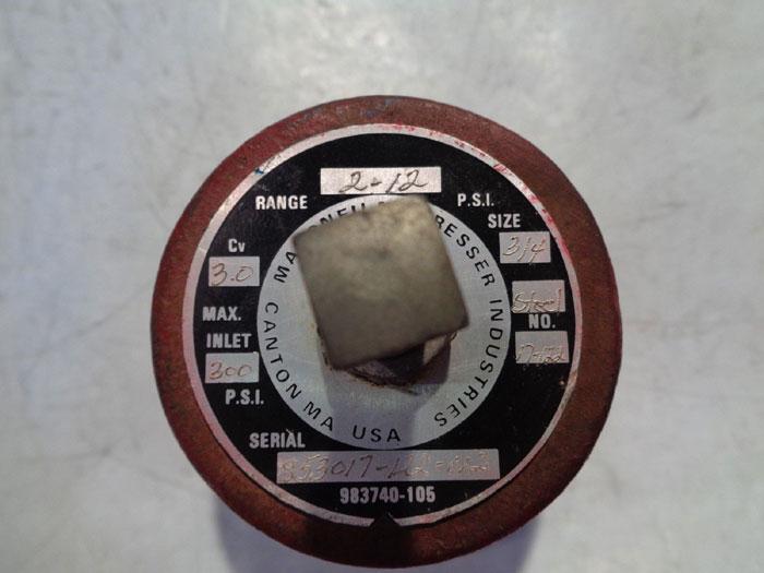 """MASONEILAN DRESSER 3/4"""" REGULATOR 853017-122-012"""