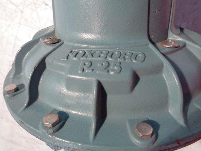 FOXBORO P-25 AIR POSITIONER STABILFLO V1 SERIES CONTROL VALVE V1S-01SNTSSEBNS-K