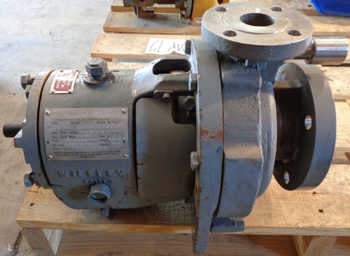 "AR WILFLEY 3"" X 1.5"" - 6"" CENTRIFUGAL PUMP, MODEL: A7"