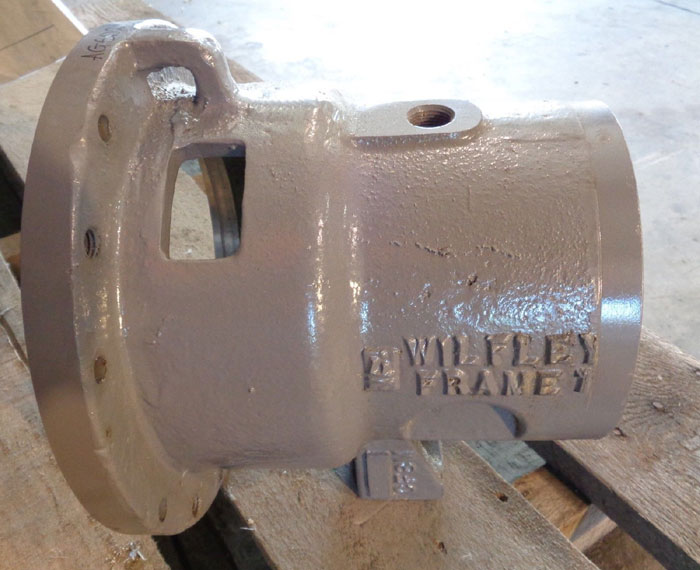 WILFLEY CF8M PUMP FRAME ADAPTER