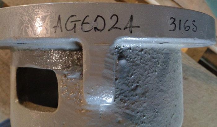 WILFLEY CF8M PUMP FRAME ADAPTER