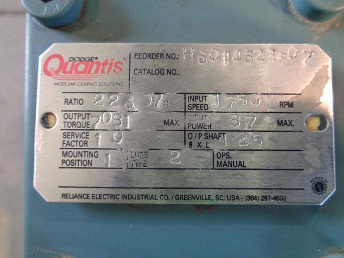 DODGE QUANTIS GEAR REDUCER H6C14S22607