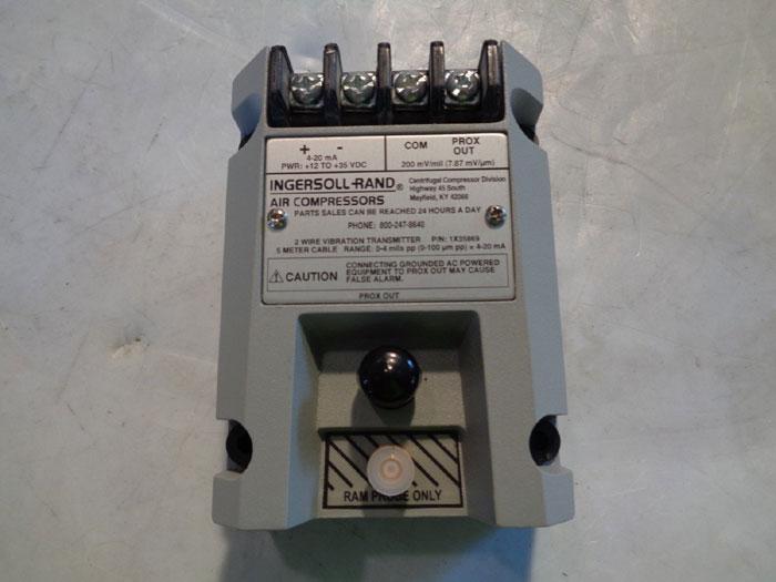 INGERSOLL RAND VIBRATION TRANSMITTER 68142462 / 1X35869