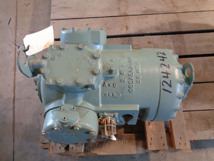 CARLYLE 3-HEAD SEMI HERMETIC RECIPROCATING COMPRESSOR 6D3376TLBC0600
