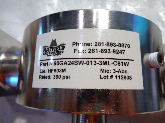 HATFIELD HYDRAULIC 3B FILTER 90GA24SW-013-3ML-C61W, ELEMENT HF603M