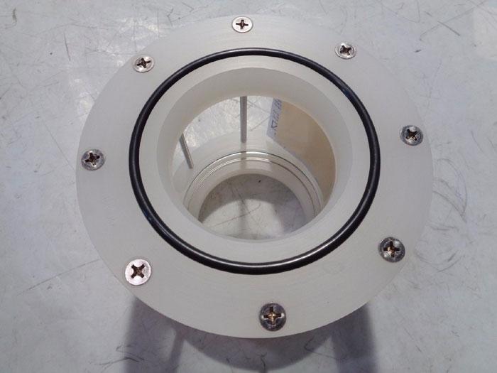 "PLAST-O-MATIC POLYPRO 4"" WAFER SIGHTGLASS SERIES GYW400-V-PP"