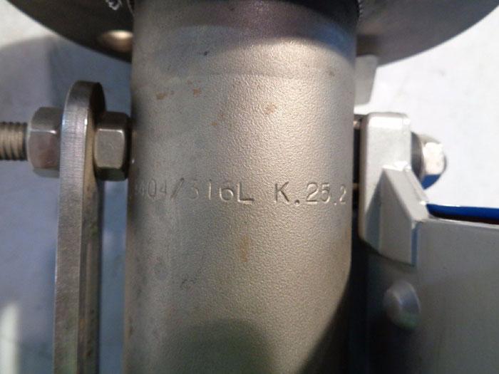 """KROHNE 1"""" 150# VARIABLE AREA FLOW METER H250"""