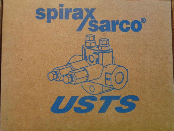 SPIRAX SARCO USTS II UNIVERSAL STEAM TRAP STATION W/ HANDLES 74511
