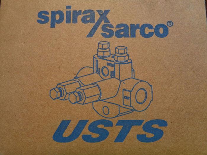 "SPIRAX SARCO USTS II 3/4"" UNIVERSAL STEAM TRAP STATION W/ HANDLES #74516"
