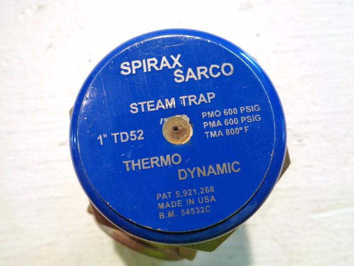 "SPIRAX SARCO TD521"" THERMODYNAMIC STEAM TRAP 54532C"