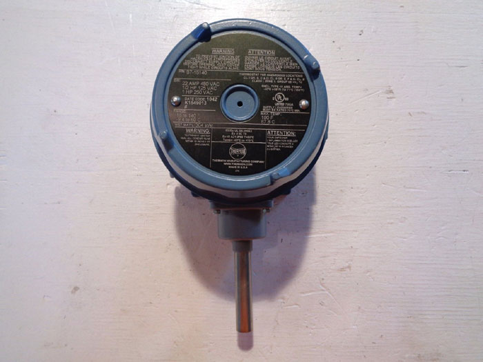 THERMON MECHANICAL THERMOSTAT SWITCH, PART#: B7-15140