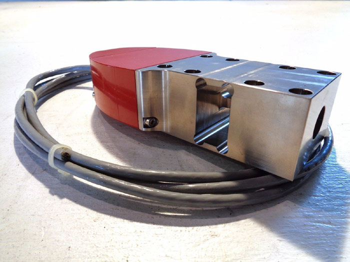 KTRON SFT III XPC3 SMART FORCE TRANSDUCER W/ FESTO PNEUMATIC CYLINDER ASSEMBLY