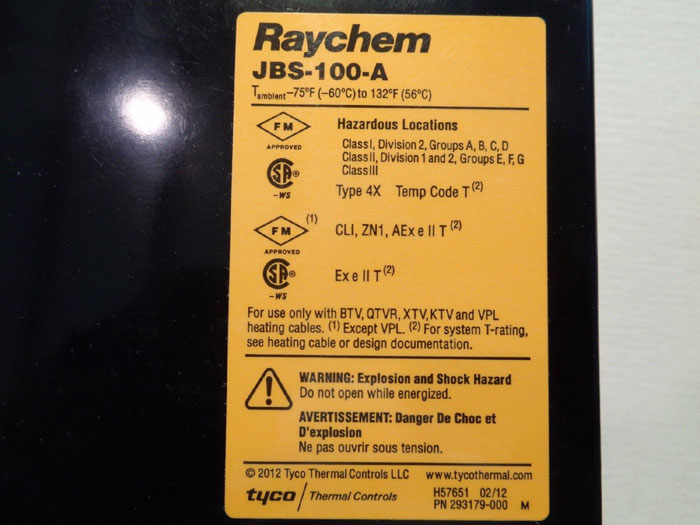 RAYCHEM POWER CONNECTION KIT JBS-100-A