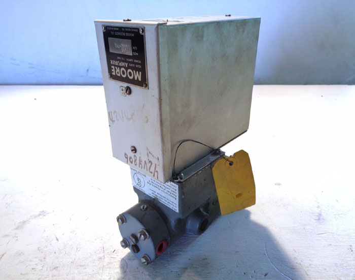 MOORE TOP E/P TRANSDUCER W/ SOLID STATE AMPLIFIER 7714C