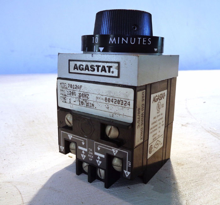 AGASTAT TE CONNECTIVITY TIMING RELAY 7012AF