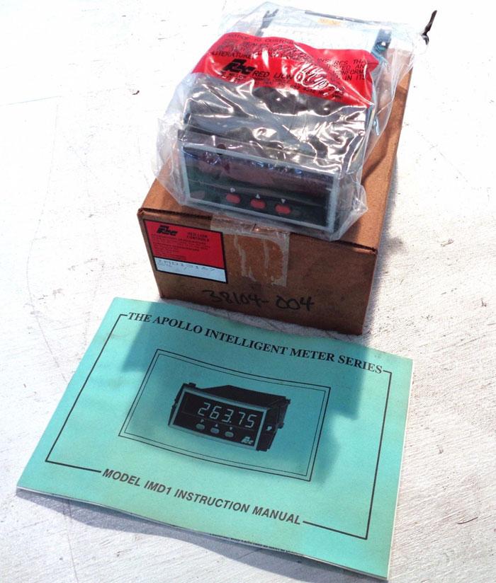 RED LION CONTROLS APOLLO IMD2 INTELLIGENT 6-DIGIT METER IMD13167