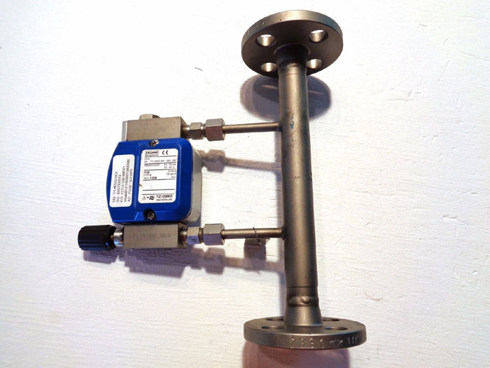 "KROHNE 1/2"" 150# VARIABLE AREA FLOW METER ASSEMBLY DK32"