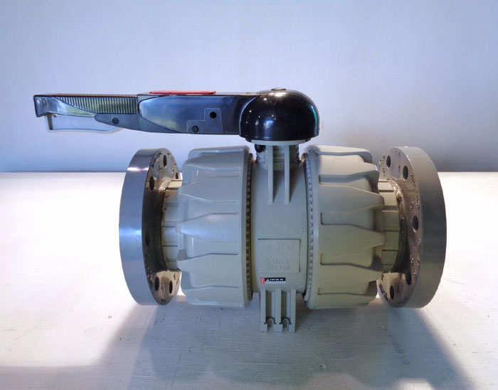 "IPX 4"" CPVC FLANGED BALL VALVE D110"