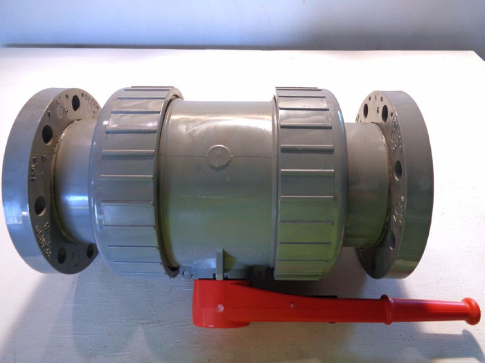 "SPEARS 6"" CPVC FLANGED BALL VALVE 1833-060C"