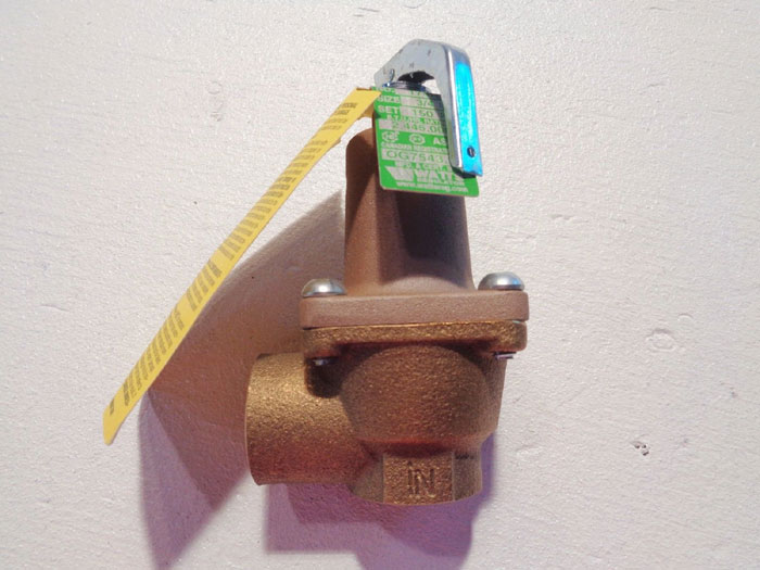 """WATTS 3/4"""" ASME WATER PRESSURE RELIEF VALVE 174A 150 PSI MODEL#: M3"""