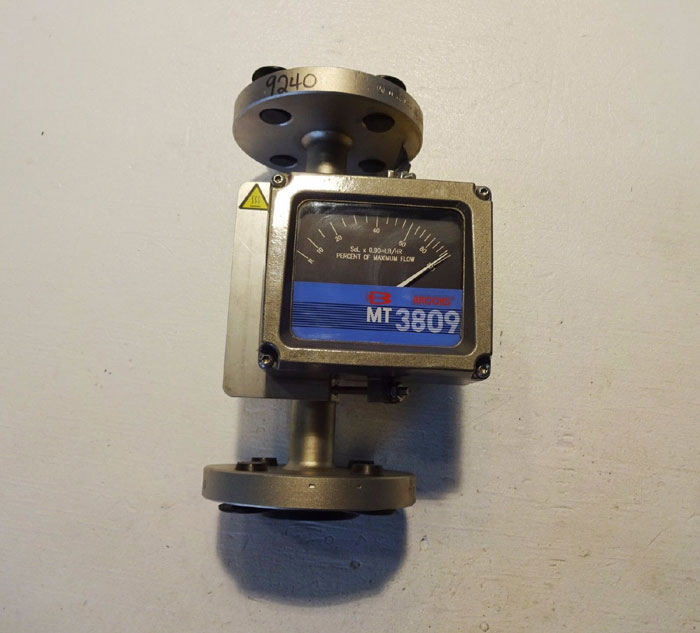 "BROOKS 1"" 300# MT3809 FLANGED VARIABLE AREA FLOWMETER 3809E1BBBJQA1BA"