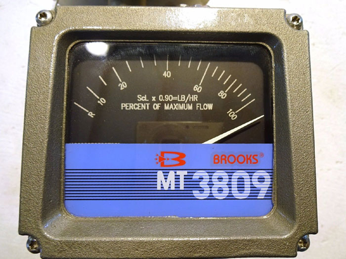 "BROOKS 1"" 300# MT3809 FLANGED VARIABLE AREA FLOWMETER 3809E1BBBJQA1BA"