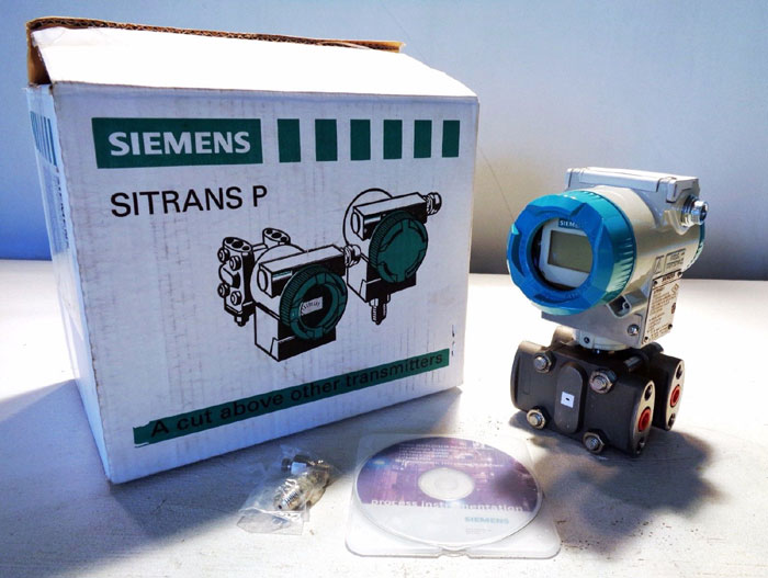 SIEMENS SITRANS P DIFFERENTIAL PRESSURE TRANSMITTER 7MF4433-1HA22-1NC6-Z