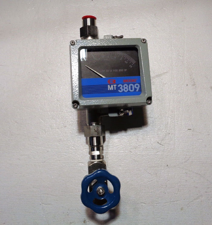 "BROOKS MT3809 1/2"" METAL TUBE VARIABLE AREA FLOWMETER MT3809E12C2HAA1Q1"