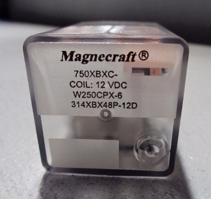 LOT OF (28) MAGNECRAFT RELAYS #782XDXH10, #314XBX48P, 750XBXC, #750XCXM4L & MORE