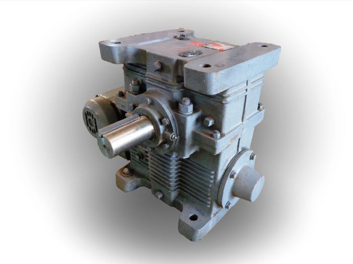 IMO DELROYD DOUBLE WORM GEAR SPEED REDUCER, MODEL#: DE60-S1
