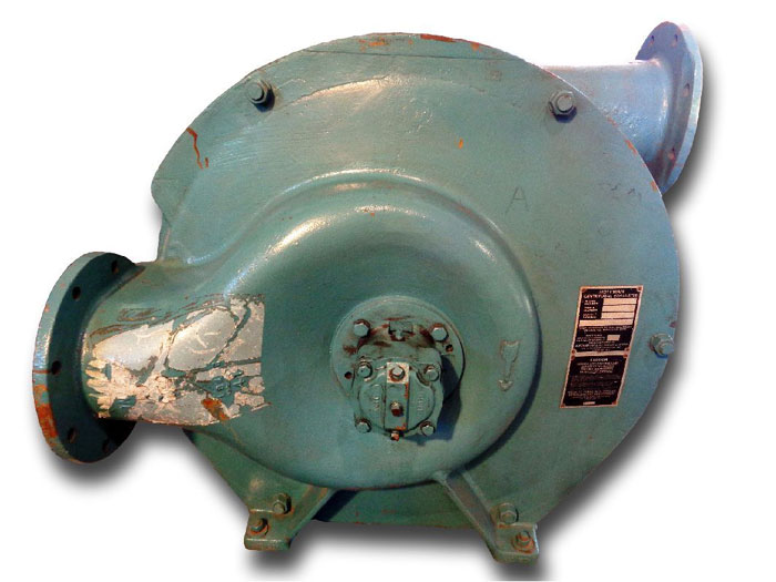 HOFFMAN CENTRIFUGAL EXHAUSTER, MODEL#: 4202A