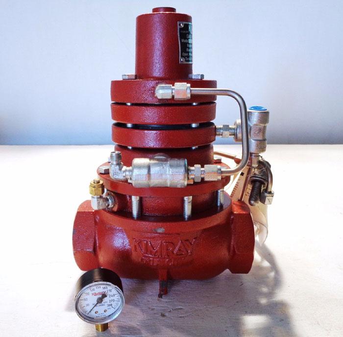 "KIMRAY 2"" GAS BACK PRESSURE REGULATOR 230 SGT PRB"