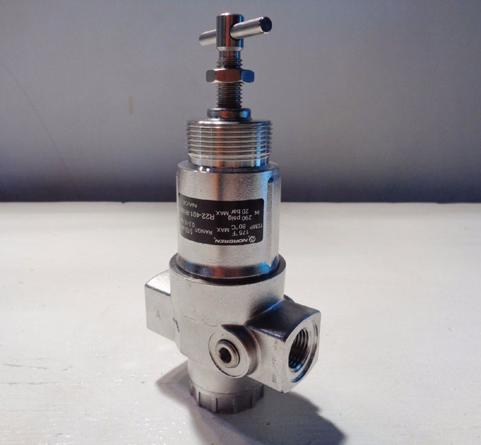 NORGREN STAINLESS STEEL REGULATOR #R22-401-RNMA