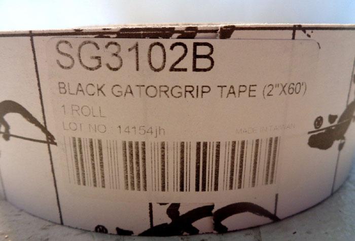 "LOT OF (5) INCOM ANTI-SLIP BLACK GATORGRIP 2"" X 60' TRACTION TAPE, #SG3102B"