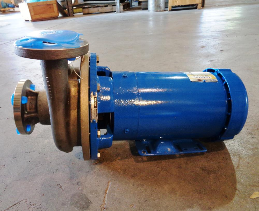 HAIGHT HZ SERIES CENTRIFUGAL PUMP, MODEL#: HZC2-1.5X1.25