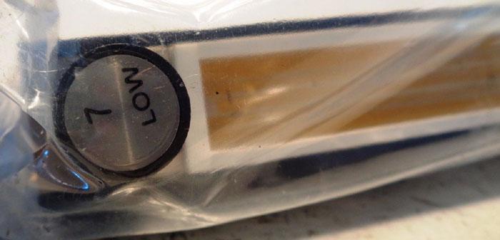 DWYER DIRECT READING GLASS FLOW METER MODEL#: DR224532