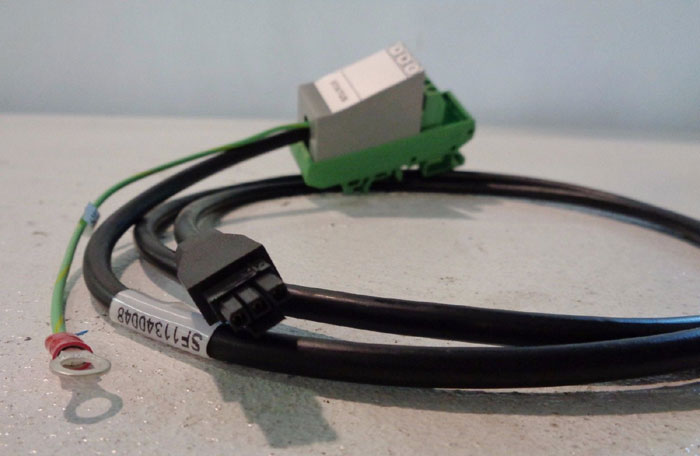 LOT OF (3) FOXBORO I/A SERIES ALARM CABLE ASSEMBLY #P0923DB