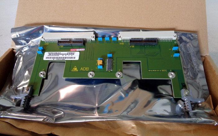LOT OF (2) SIEMENS ADAPTER CARD MODEL ADB MASTER DRIVE SIMOVERT 6SX7010-0KA00