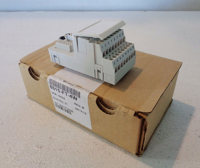 GE FIELD TERMINAL #8615-FT-4W FOR INTELLIGENT PLATFORMS **LOT OF (7)**