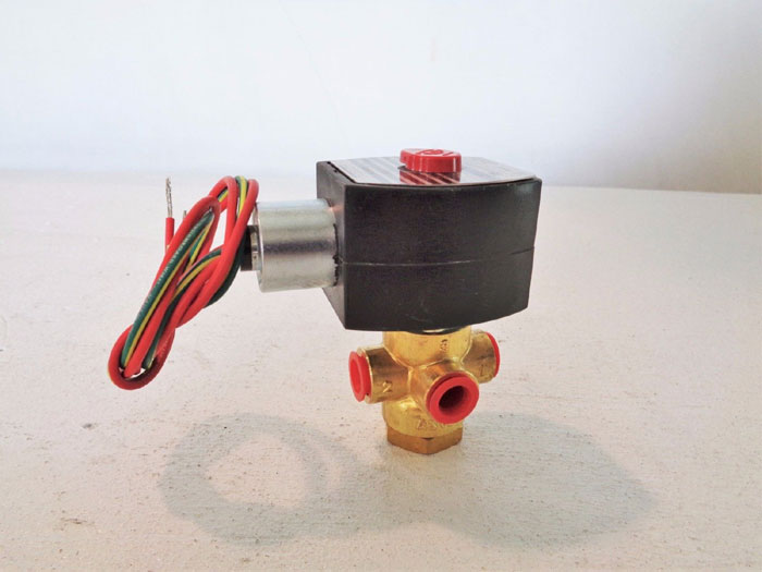 ASCO RED HAT 3-WAY SOLENOID VALVE EF8003G1/EF8320G184