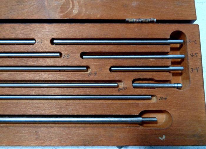 STARRETT 697 DIAL GAUGE KIT