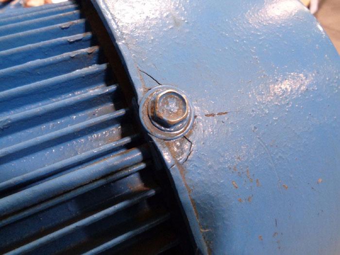 """INGERSOLL RAND 2"""" X 1.5"""" X 9-B PUMP, MODEL#: H2, PART#: 0692-4022 W/ 20HP US MOTOR"""