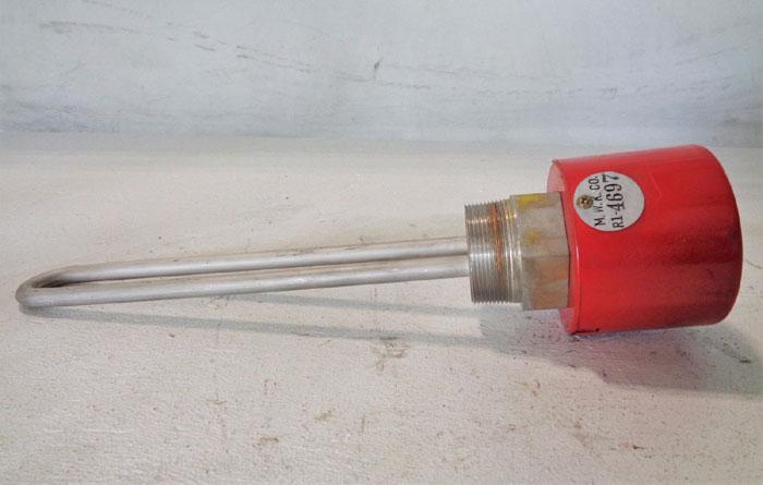 "CHROMALOX MTS-215A 2"" SCREW PLUG IMMERSION HEATER 240V, 1,500W #139950"