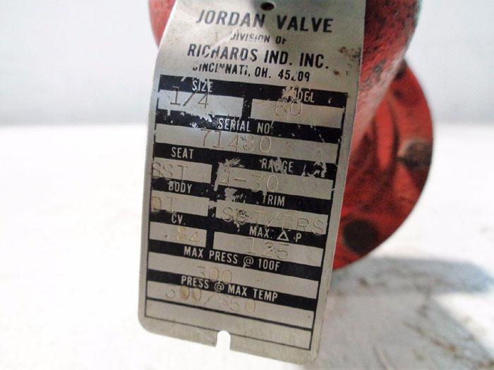 """JORDAN SLIDING GATE PRESSURE REGULATOR 1/4"""" MODEL 60"""