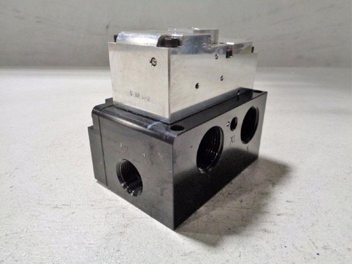 ROSS CONTROLS CX SOLENOID PILOT CONTROL VALVE CX36NA55501